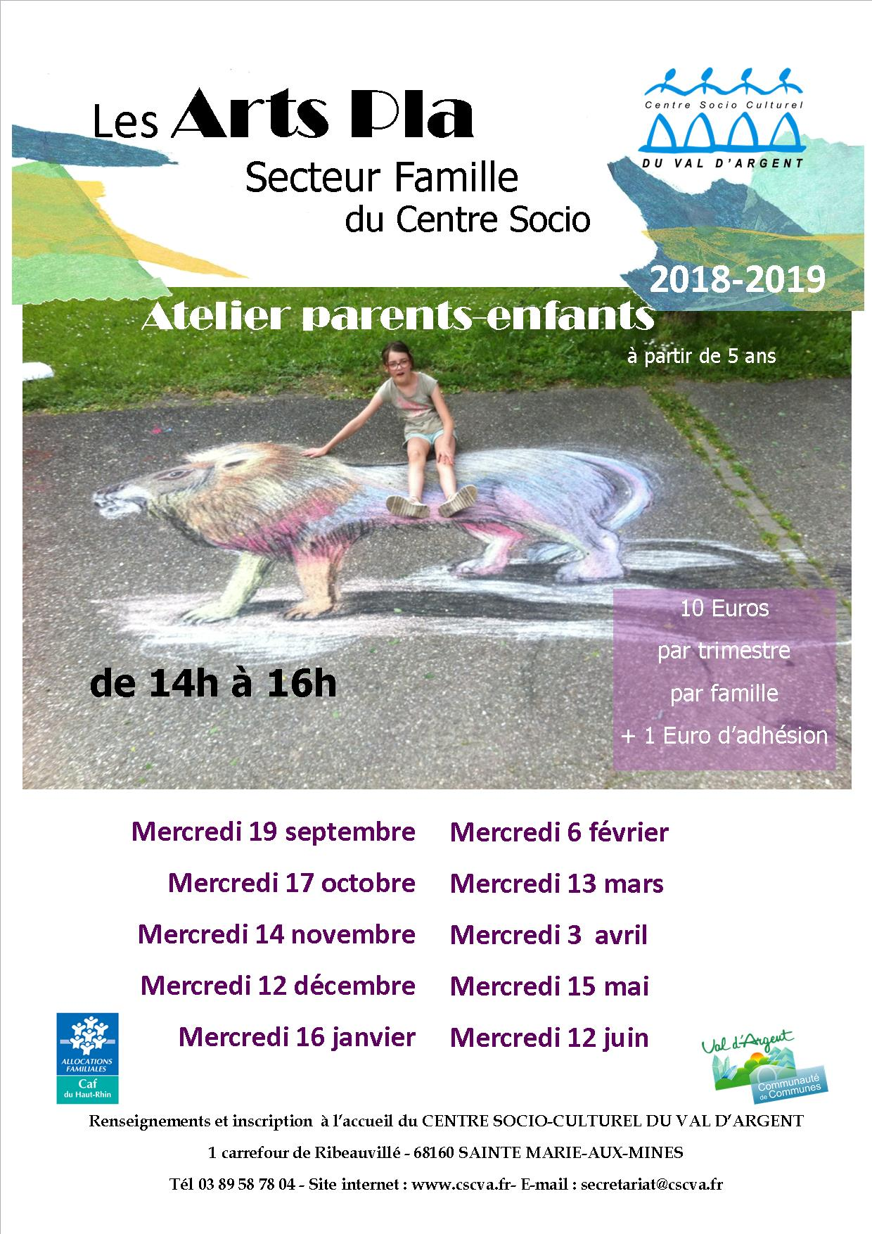 fly arts pla famille 2018 19