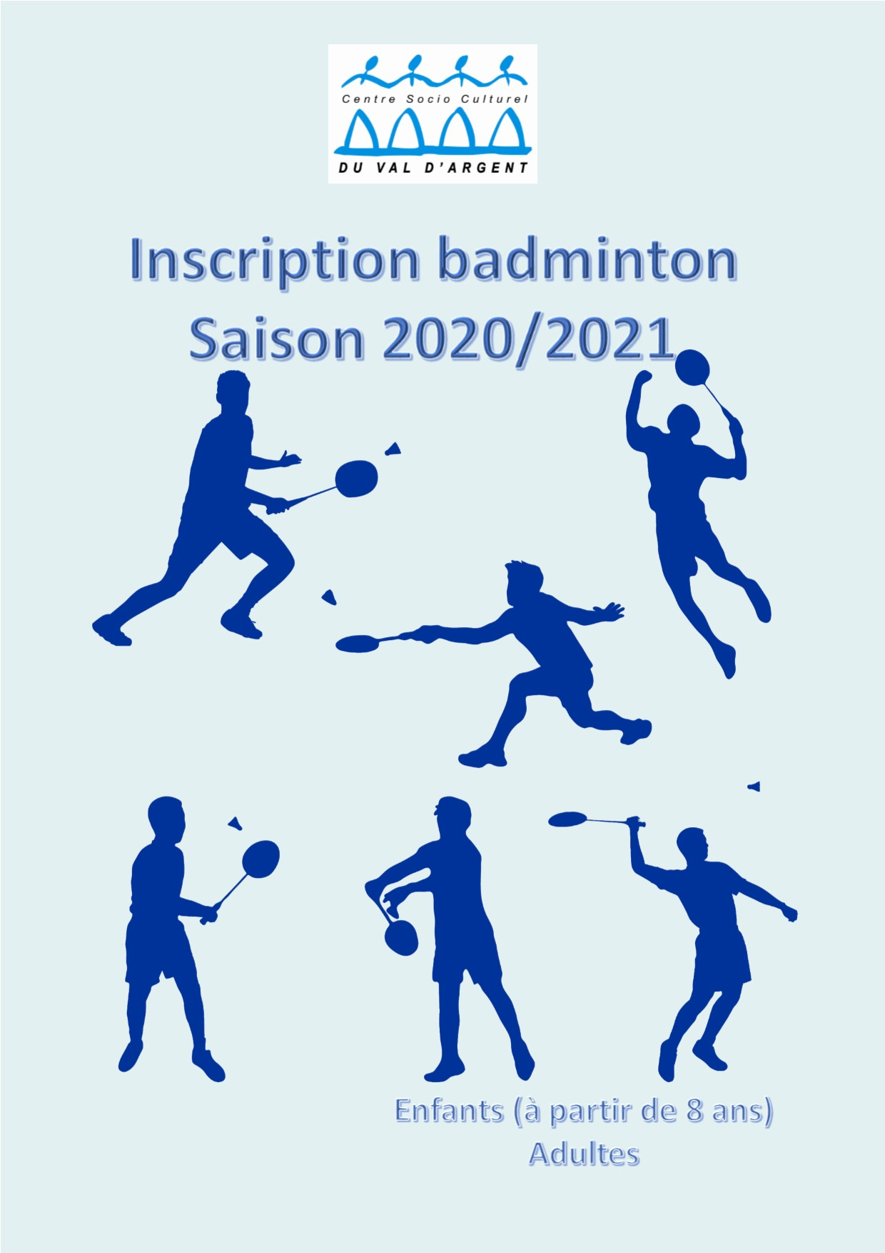 INSCRIPTION BADMINTON 2020 2021